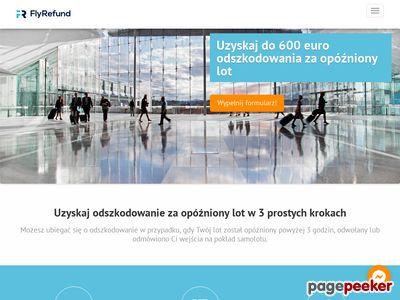 Odszkodowanie za opóźniony lot - flyrefund.pl