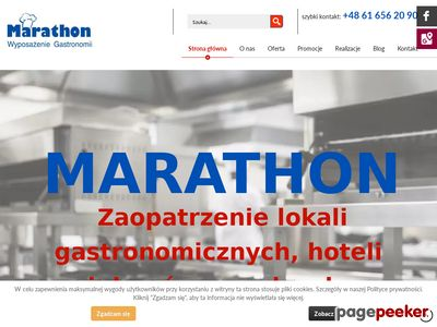 Marathon B. Jakubowska - meble gastronomiczne
