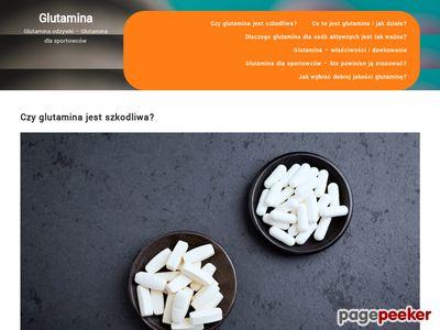 Sklep z suplementami - glutamina-odzywki.pl