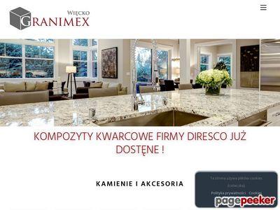 Granimex Więcko - blaty kuchenne w Warszawie