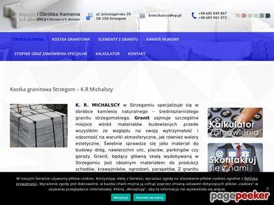 K.R. Michalscy - kamień murowy