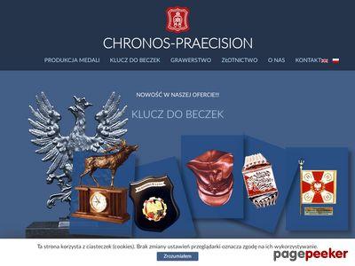 Chronos-Praecision grawerowanie medale, ryngrafy