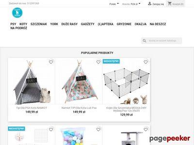 Ubranka dla psów i kotów i karmy - HappyPuppy