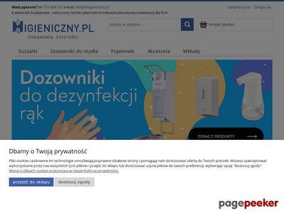 Higieniczny.pl - Przewijak ścienny do toalet