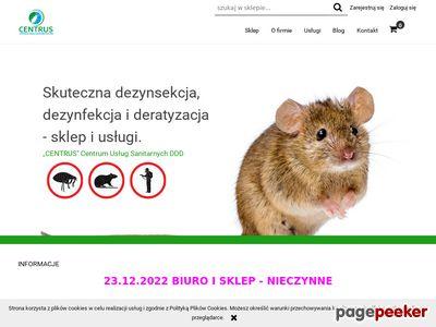 Centrus - sklep z preparatami DDD w Lublinie