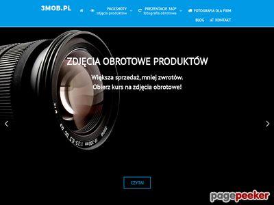 Zdjęcia 360 Warszawa, Zdjęcia produktów 360, Prezentacje obrotowe - 3mob.pl