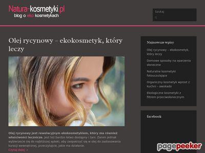 Natura-Kosmetyki.pl Blog o kosmetykach naturalnych