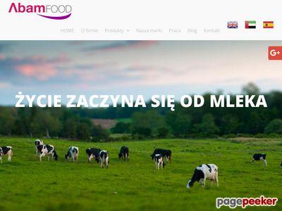 Www.abamfood.pl Producent mleka w proszku