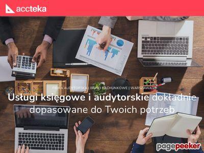 Firma audytorska Warszawa