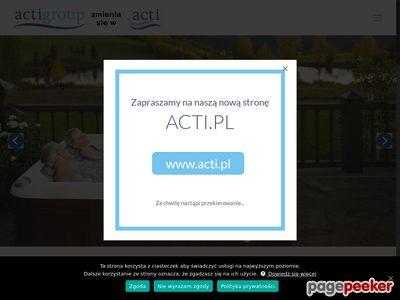 Najlepsze sauny producent ActiGroup.pl