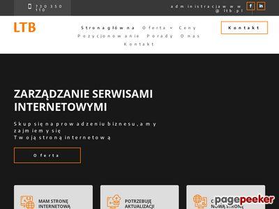 Zarządzanie serwisami internetowymi - administracjawww.pl