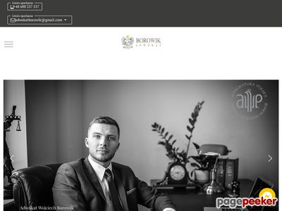 Adwokat trójmiasto - adwokatborowik.pl