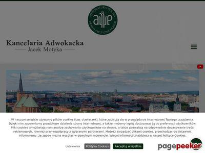 JACEK MOTYKA Adwokat szczecin
