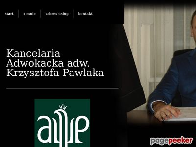 Kancelaria adwokacka Krzysztofa Pawlaka