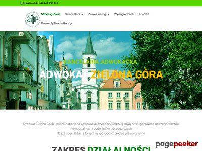 Adwokat Zielona Góra, sprawy rozwodowe