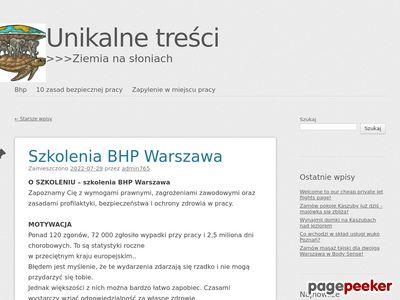 Warszawa BHP