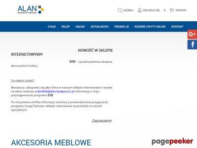 Nogi meblowe - Z.H.U. Alan Bydgoszcz