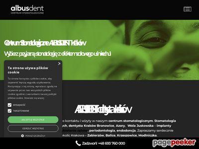 AlbusDent Centrum stomatologiczne stomatolog Kraków