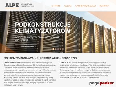 Podkonstrukcje klimatyzatorów http://alpe.pl