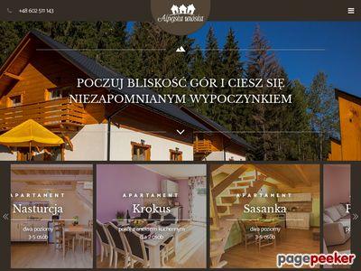 Istebna domki - alpejskawioska.pl