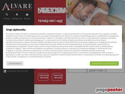 Sklep Alvare | Materace Warszawa