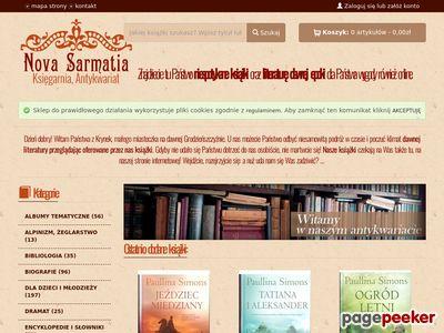 Nova Sarmatia antykwariat internetowy