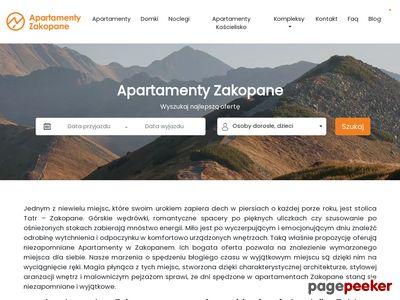 Najlepsze apartamenty w Zakopanem