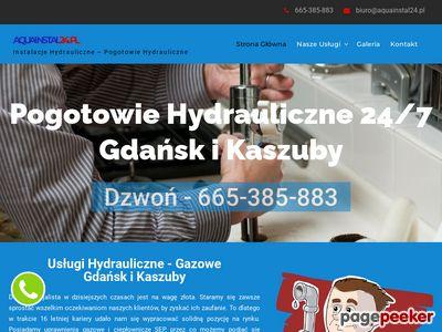 Pogotowie hydrauliczne gdańsk - aquainstal24.pl