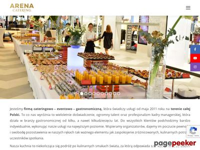 ArenaCatering.pl - catering dla firm Kraków