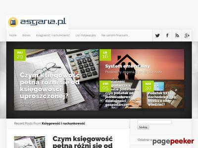 Blog finansowy Asgaria
