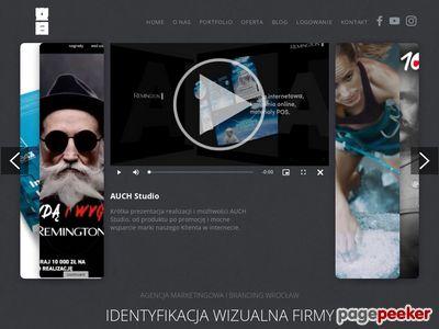 Tworzenie identyfikacji dla marki Auch Studio