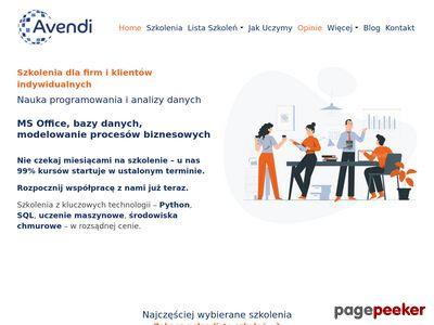 Avendi - Kursy Excel