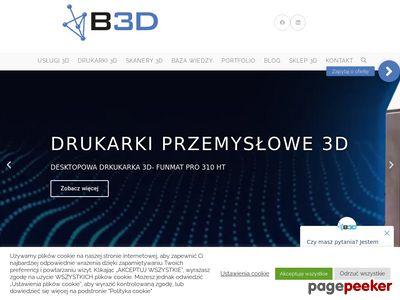 Modelowanie 3d - b3d.com.pl