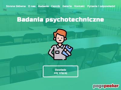 Badanie psychotechniczne operatorów