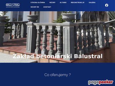 Balustrady betonowe Balustral.pl