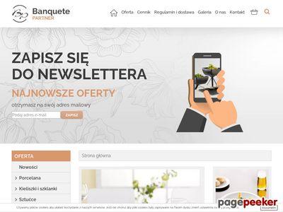 Banquete Partner - wypożyczalnia gastronomiczna