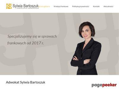 Adwokat w Krakowie - Sylwia Bartoszuk