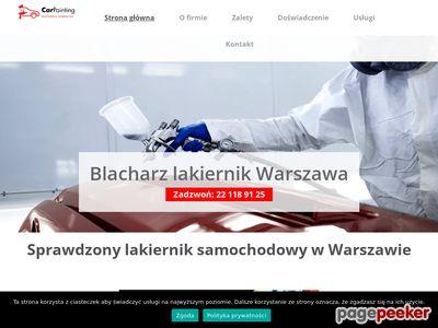 Blacharz samochodowy Warszawa