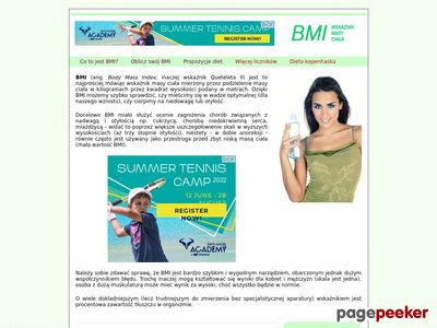 BMI - Body Mass Index
