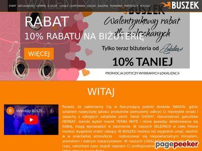 Fajka wodna, shisha, tytoń so shishy, szisza - sklep Buszek.com