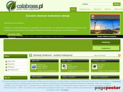 Katalog stron Calabrass
