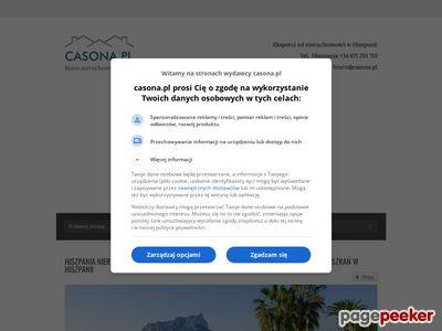 Costa Blanca Hiszpania nieruchomości