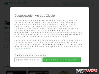 Cateromarket.pl - Wyszukiwarka Cateringów Dietetycznych