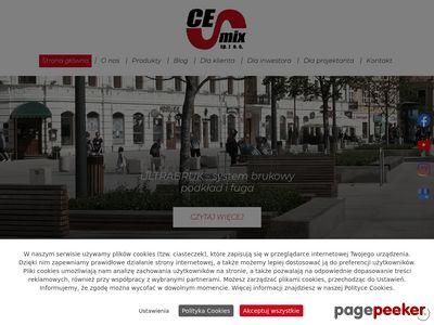CEMIX SP. Z O.O. posadzka przemysłowa