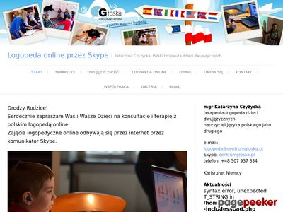 Polski logopeda online