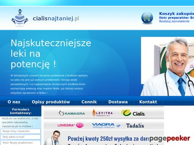 Cialisnajtaniej.pl - Cialis