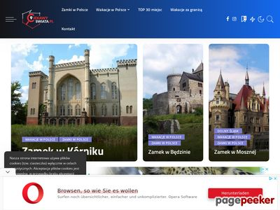 CiekawySwiata.pl - Ciekawe miejsca w Polsce na weekend