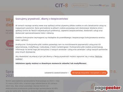 Druk CIT 8