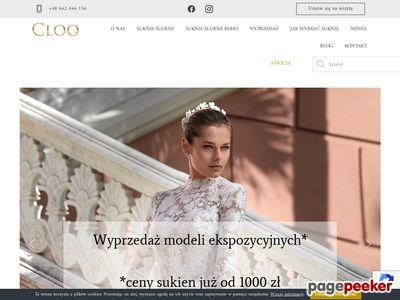 Salon sukien ślubnych Katowice - CLOO.PL
