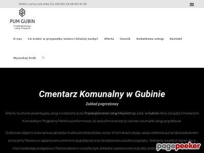Firma pogrzebowa Gubin - sprawdź